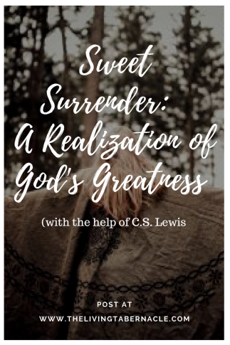 SweetSurrender_ A Realization of God's Greatness