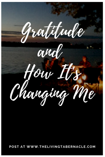 Gratitudeand How It's Changing Me